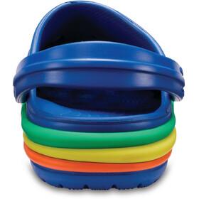 Crocs CB Rainbow Band Lapset sandaalit , sininen
